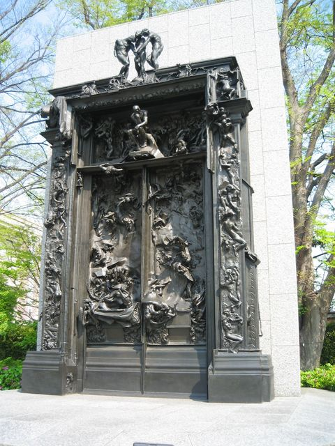 Auguste Rodin, Bronze Cast, The Gates of Hell, 1880